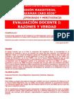 Art-4Evaluacion-Educativa Razones y Verdad