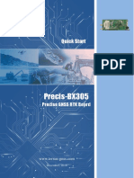 Precis BX305 Quick Start Guide