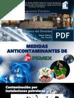Medidas Anticontaminantes de PEMEX