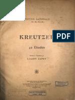 Kreutzer - Lucien Capet (1 Al 10)