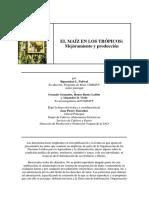 El Maiz en Los Trópicos Mejoramiento y Produccion
