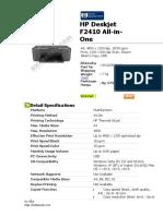 HP Deskjet F2410 All