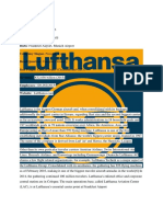 Lufthansa Financial Accounting Project