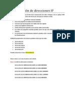 Sumarización de direcciones IP