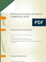 Planta Procesadora de Granos CAMPOSOL-AQP