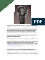 TAG Heuer Carrera Calibre 1887 Cronografo Reloj de Replica Para