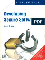 Developing Secure Software