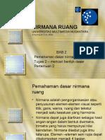 NIRMANA RUANG 2