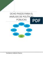 8 Pasos Para Analizar Políticas Públicas