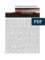 Lukoil analizează posibilitatea vânzării diviziei sale elveţiene