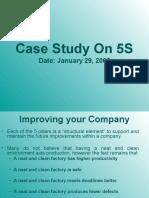 Case Study on 5S