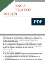 Resonancia Magnetica Por Imagen