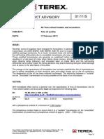 Terex Product Advisory Feb2011