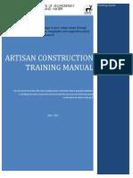 Artisan Manual ( Draft)
