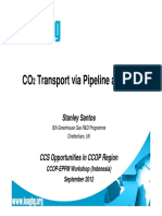 3. CO2 Transport Overview - S. Santos IEAGHG
