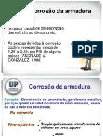 Patologia - Corrosão