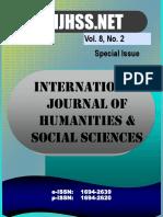 Vol 8 No 2 - Special Issue