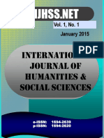 Vol 1 No 1 - January 2015