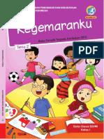 Buku Siswa Kelas 1. Tema 2. Kegemaranku