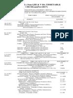 20171125153214950 UG I III and v SEMESTER Examination (Regular and Supplementary) Schedule November December 2017