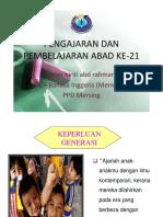Pengajarandanpembelajaranabadke 21 151018145702 Lva1 App6891