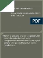 248113474 Vitamin Dan Mineral Ppt Sinta