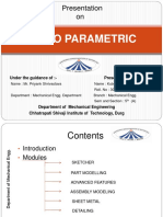 336851790 Creo Parametric Vocational Tarnning PPT