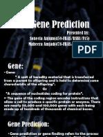 Gene Prediction (1)
