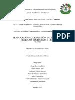 Gestion Integral de Residuos Solidos2016-2024