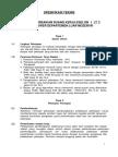 Spesifikasi Teknis Pekerjaan Perbaikan r