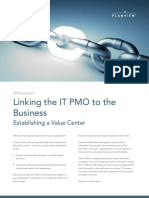 Linking the IT PMO to the Business-Updated August 2017