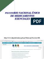 Generalidades Del Petitorio