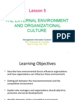 5 - External Environment and Organizational Culture1.ppt