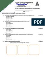 Evaluacion de Produccion y Comprension