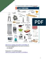 De cocineros en clase de español