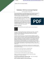 Golden Dawn - Meditation With the Archangel Raphael