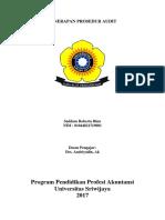 makalah penerapan prosedur audit.docx