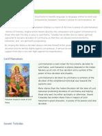 Hanuman Chalisa list  sentences and meanings