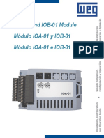 WEG Cfw11 Ioa 01 and Iob 01 i Os Expansion Modules 10000064990 Installation Guide English