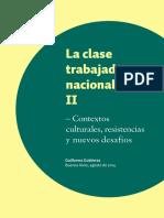 Gutierrez - La Clase Trabajadora Nacional II
