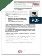 Methodology of UPV