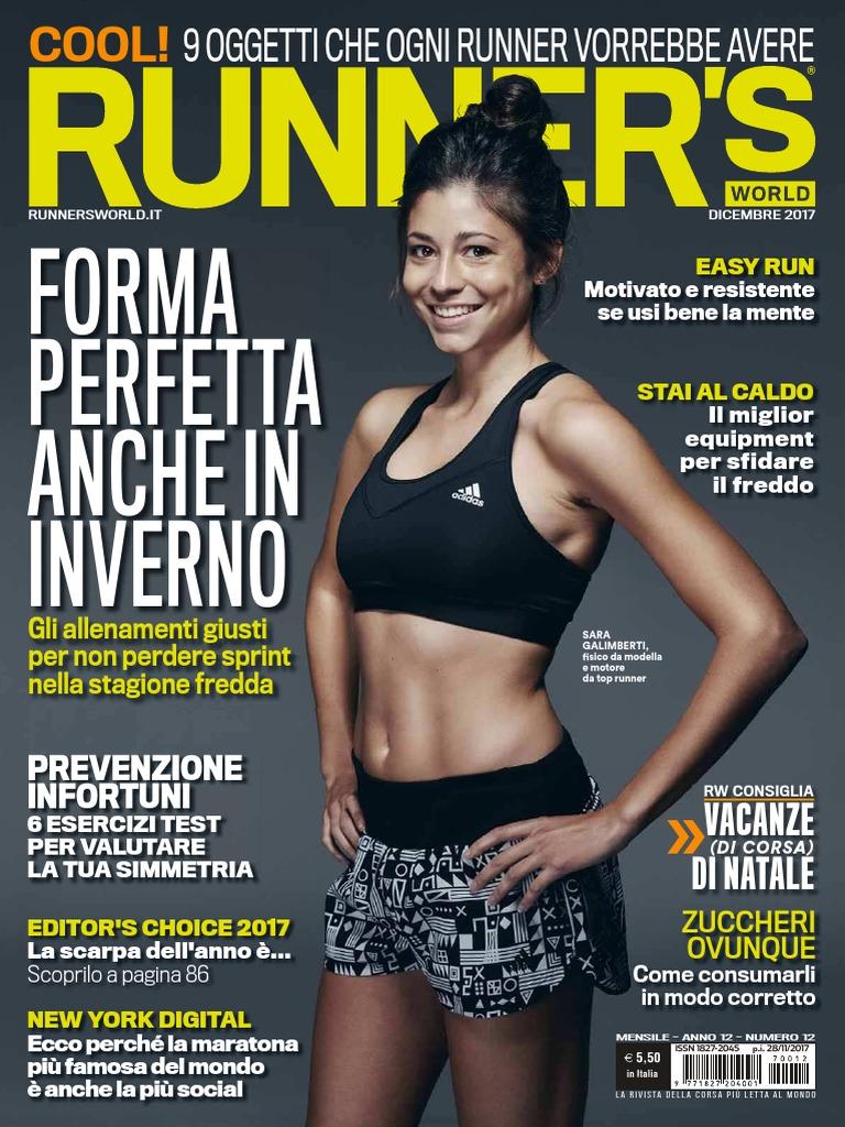 Runner s World Italia Dicembre 2017 b91b90558d2