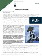 Aerial work platform has all-hydraulic control.pdf