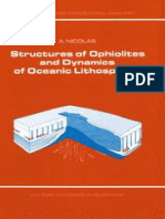 Structures of Ophiolites and Dy - A. Nicolas