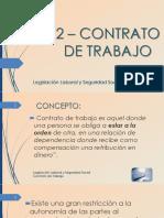 Bolilla 02 - Contrato de Trabajo