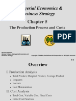 Chapter 05 -- The Production Process and Costs