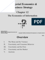 Chapter 12 -- The Economics of Information