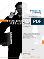 Percorso Responsabile After Sales Ed 2 Festo Academy Giugno