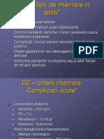 Criterii internare DZ.ppt