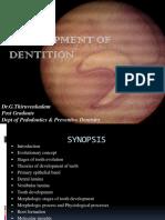 Development of Dentition -Final